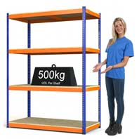 Rax 1 heavy duty shelving